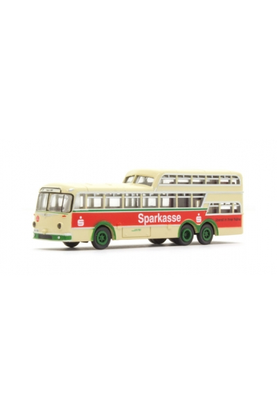 Minis 3914 Автобус Bussing 1 1/2 Decker Hagen SSK 1/160