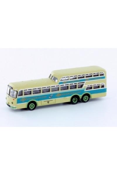 Minis 3915 Автобус Bussing 1 1/2 Decker KVB 4711 1/160
