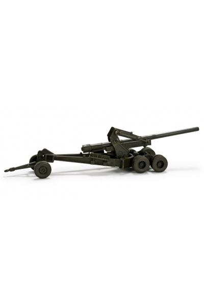 Minitanks 743679 Long Tom M 59, 155mm US-Army 1/87