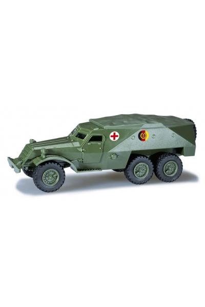 "Minitanks 744164 SPW 152 ""Rotes Kreuz"" NVA 1/87"