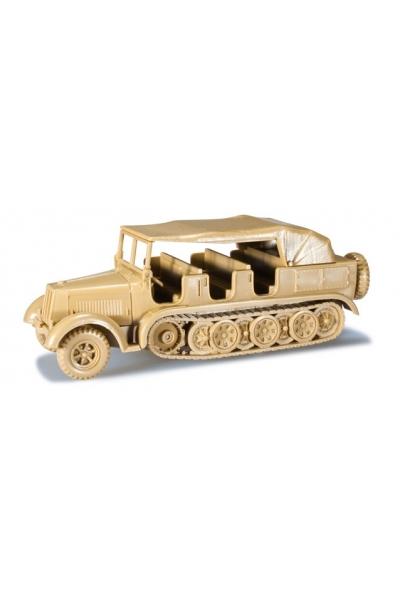 Minitanks 744188 Zugmaschine 8 to, Krauss Maffei  Wehrmacht 1/87