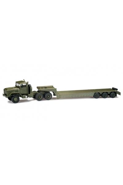 Minitanks 744485 M 931 Tieflade-Sattelzug US-Army 1/87