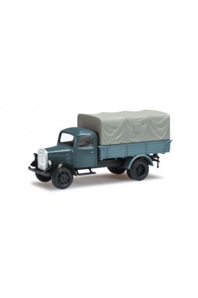 Minitanks 744874 Mercedes-Benz L 3000 Planen-LKW Wehrmacht 1/87