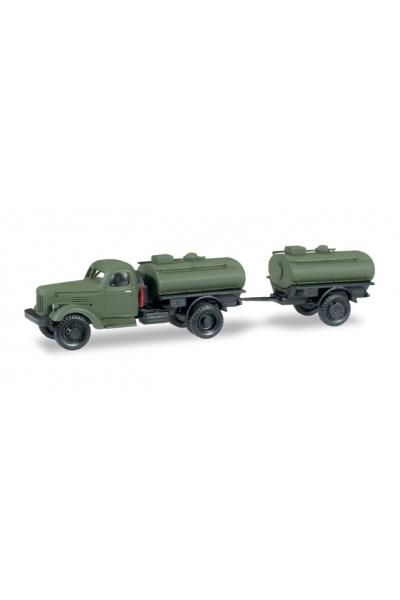 Minitanks 745109 ЗИЛ 164 бочка+бочка прицеп NVA 1/87