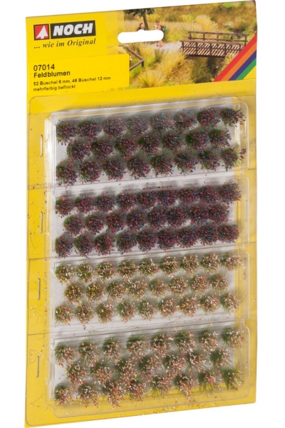 Noch 07014 Набор дикие цветы 6 и 12мм 98шт