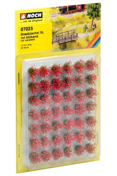 Noch 07025 Набор кочек цветущие красные 12мм 42шт