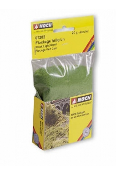 Noch 07202 Имитация листвы (флок) светло-зелёная  20г