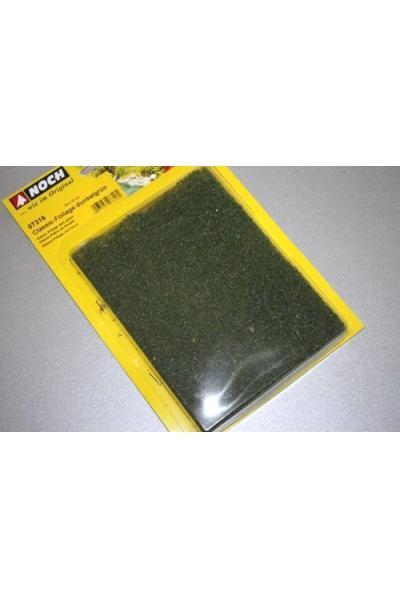 Noch 07316 Листва коврик тёмно-зелёный 24x15см