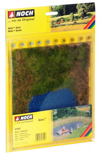 Noch 07442 Травяной коврик 22х20см+10 пучков травы 1/87