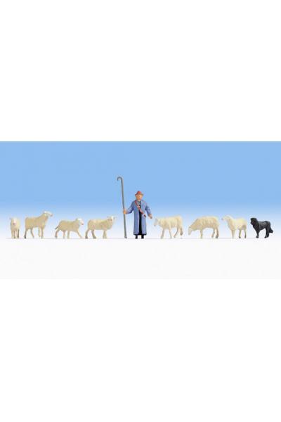 Noch 15748 Овци и пастух 1/87