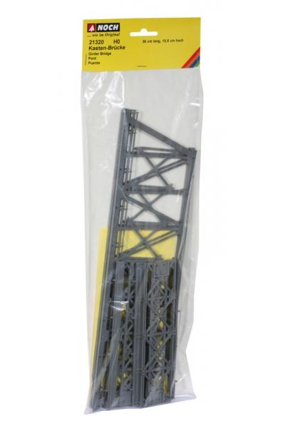Noch 21320 Мост стальной 36см 1/87