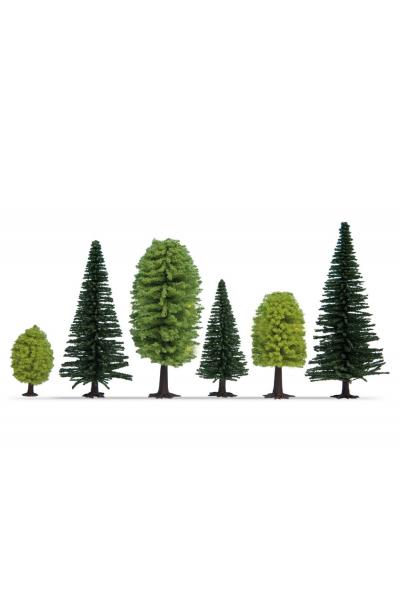 Noch 32911 Набор деревьев 10шт 1/160