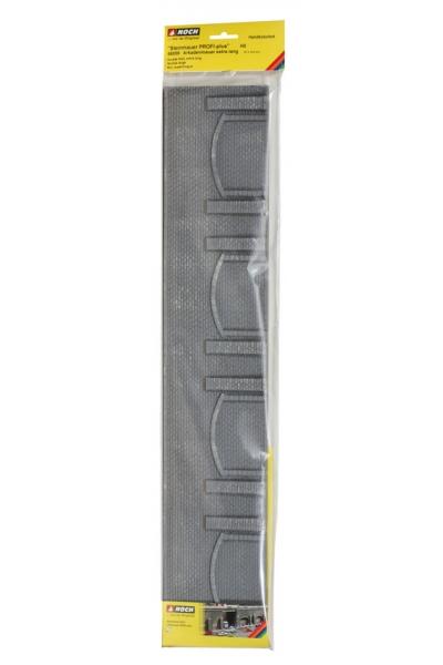 Noch 58059 Стена подпорная с колоннами и арками обработаный камень 66,8 x 12,5см. 1/87