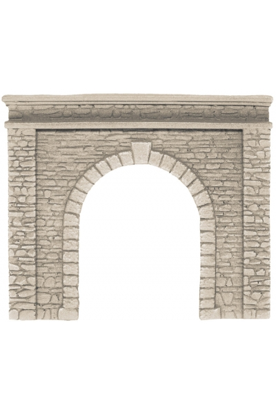 Noch 58061 Портал туннеля однопутный необработаный камень14,5х12,5см 1/87