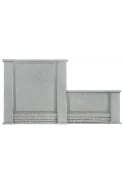 Noch 58087 Стена подпорная с колоннами 2 уровня правая 20,5 x 12,5см 1/87