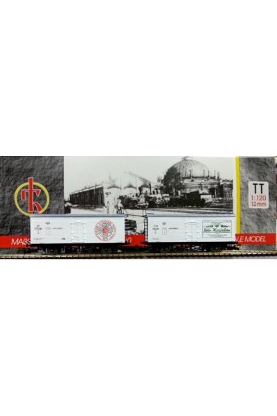 Пересвет 3901 Набор вагонов для перевозки пива НКПС СССР эпоха II-III 1/120