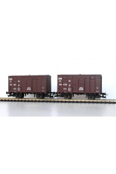 Пересвет 3102 Набор вагонов канадского типа СЖД-OPW эпоха IV 1/120