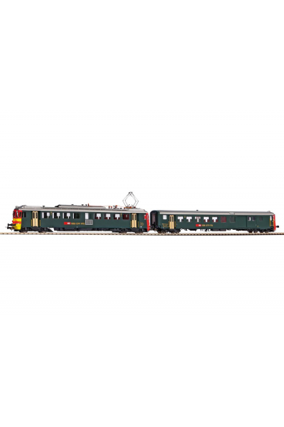Piko 96836 Электропоезд RBe 4/4 SBB ЗВУК DCC Epoche IV 1/87