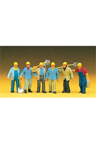 Preiser 10033 Рабочие 1/87