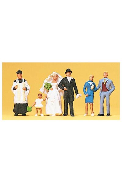 Preiser 10058 Свадьба 1/87