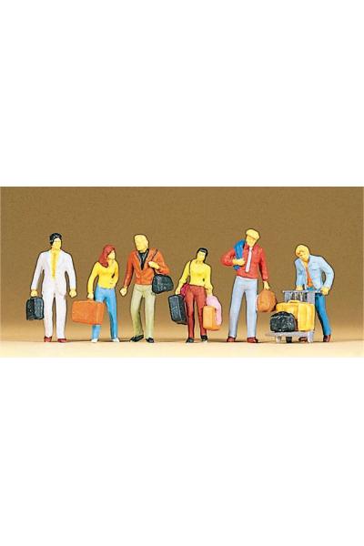 Preiser 10115 Пассажиры с багажом 1/87