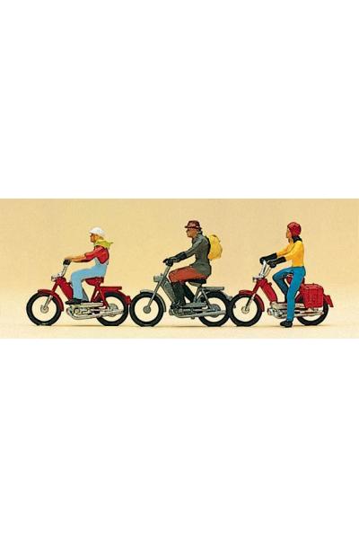 Preiser 10125 Мотоциклисты 1/87