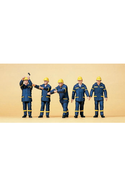 Preiser 10432 Рабочие THW 1/87