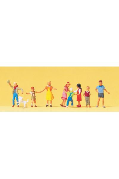 Preiser 10530 Дети играют 1/87