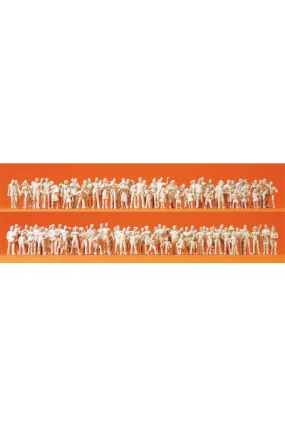 Preiser 16343 130 неокрашенных фигур 1/87