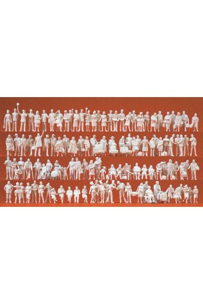 Preiser 16352 На вокзале 120 неокрашенных фигур 1/87