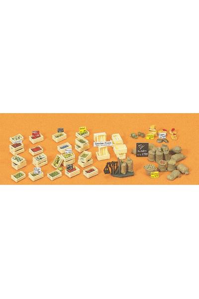 Preiser 17501 Ящикивесы овощи фрукты 1/87