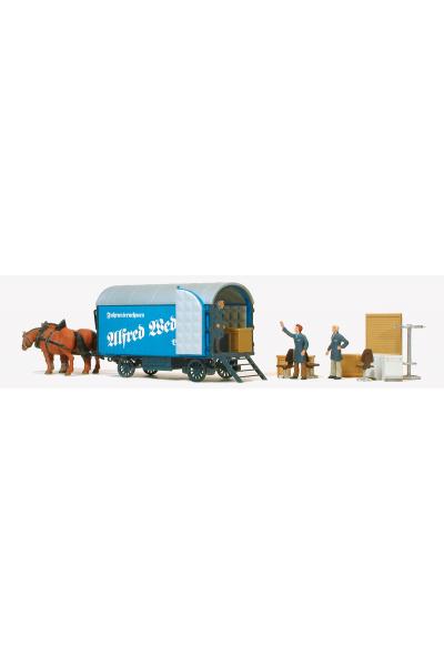 Preiser 30494 Набор фигур мебельный фургон 1/87