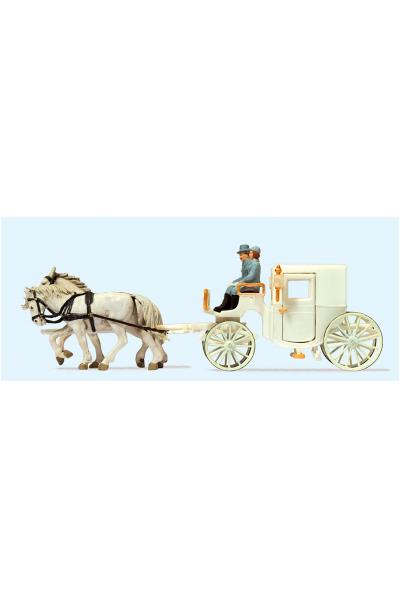 Preiser 30495 Свадебная карета 1/87