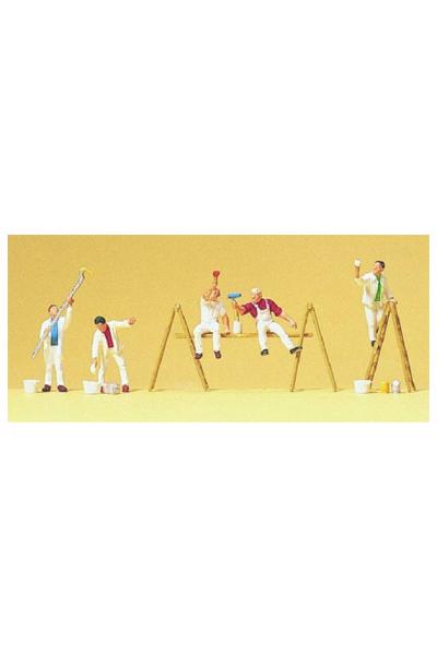 Preiser 79177 Набор фигур маляры 1/160