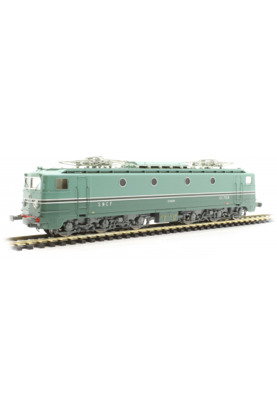 Ree JM001 Электровоз CC-7150 Sud-Ost Lyou Mouche Mistral SNCF Epoche III 1/87