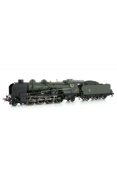 Ree MB-127S Паровоз 4-141 E 425 SNCF ЗВУК DCC Epoche III 1/87