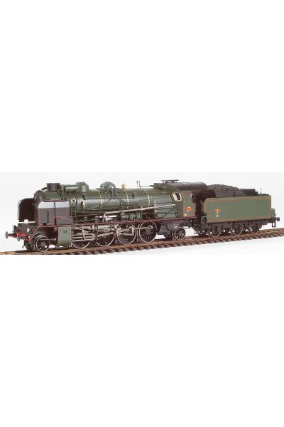 Ree MB-131 Паровоз 4-141 F 282 SNCF Epoche III 1/87