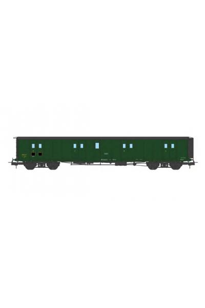Ree VB-358 Вагон багажный N°24583 SNCF Epoche III 1/87