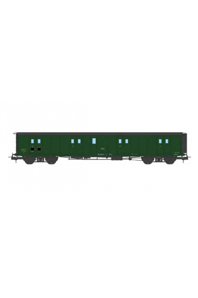 Ree VB-360 Вагон багажный N°58847 SNCF Epoche III 1/87