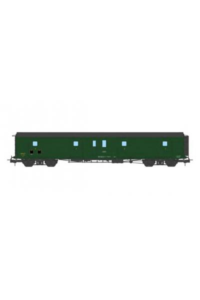 Ree VB-362 Вагон багажный N°58867 SNCF Epoche III 1/87