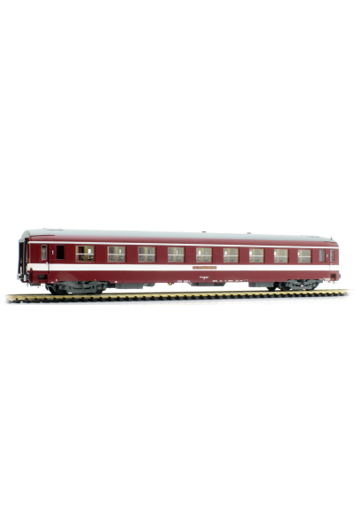 Ree VB121 Вагон пассажирский UIC A9 Le Capitole 51 87 19-90 353-7 SNCF Epoche IV 1/87