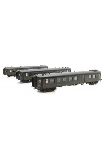 Ree VB267 Набор вагонов OCEM RA ETAT Epoche II 1/87