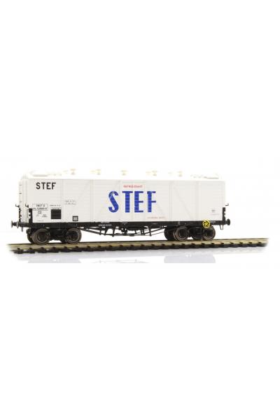 Ree WB-585 Набор вагонов FRIGO TP Aerator STEF SNCF Epoche III 1/87