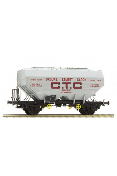Ree WB553 Вагон зерновоз CTC ESMERY-CARON, Epoche III 1/87