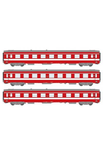 Ree VB105 Набор вагонов Personenwagen SNCF Epoche IV 1/87