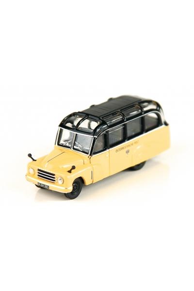 Roco 05384 Автобус Hanomag Lohner L28 Osterreichischen Post Epoche III 1/87
