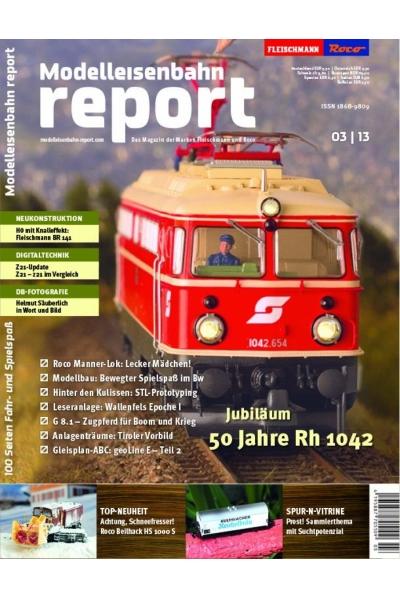 Roco 1303 Журнал Modelleisenbahn report 3/2013