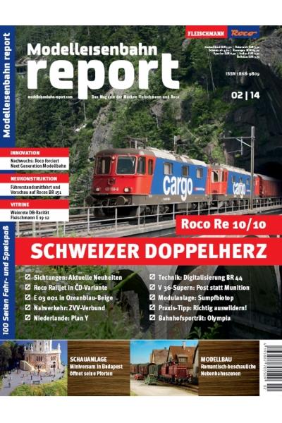 Roco 1402 Журнал Modelleisenbahn report 2/2014