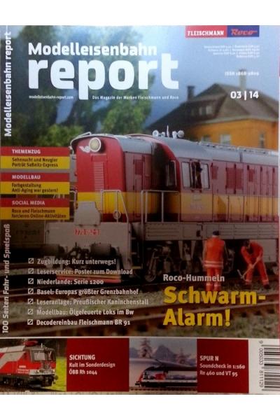 Roco 1403 Журнал Modelleisenbahn report 3/2014