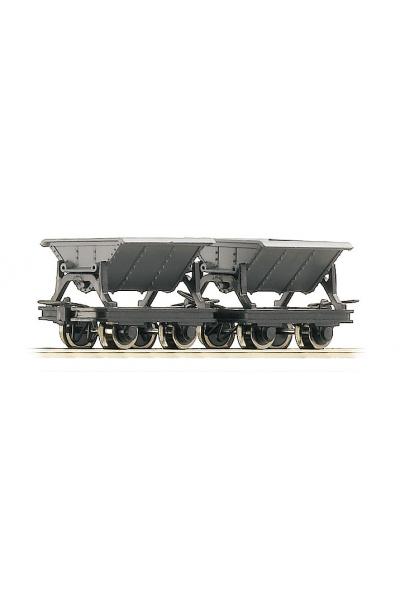 Roco 34600 Набор вагонеток 2шт Epoche III-V H0e